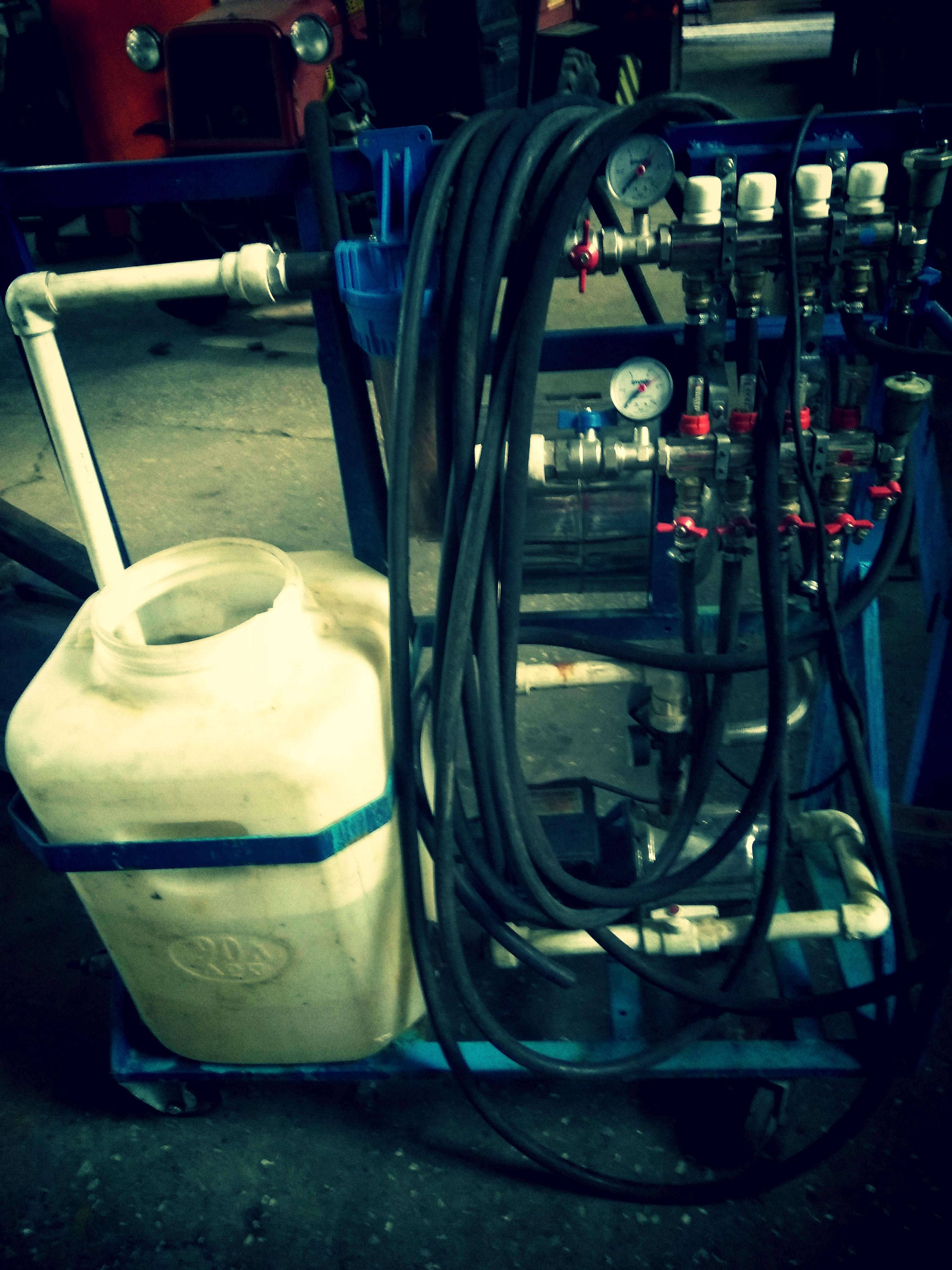 Машина промывки и опрессовки вторая