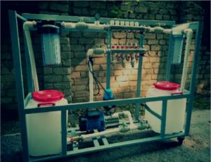Фоновое изображение машины промывки пресс форм